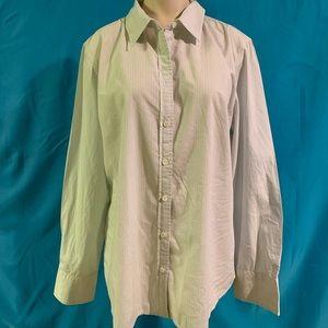 Like-new Women's J Crew button down shirt.